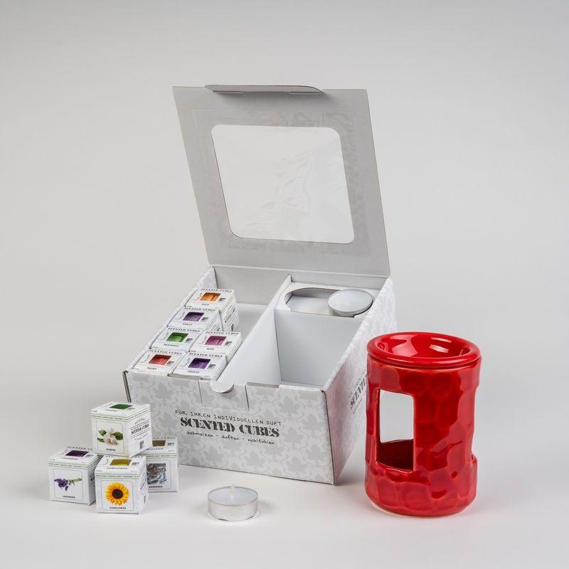 Geschenkbox 140 rot