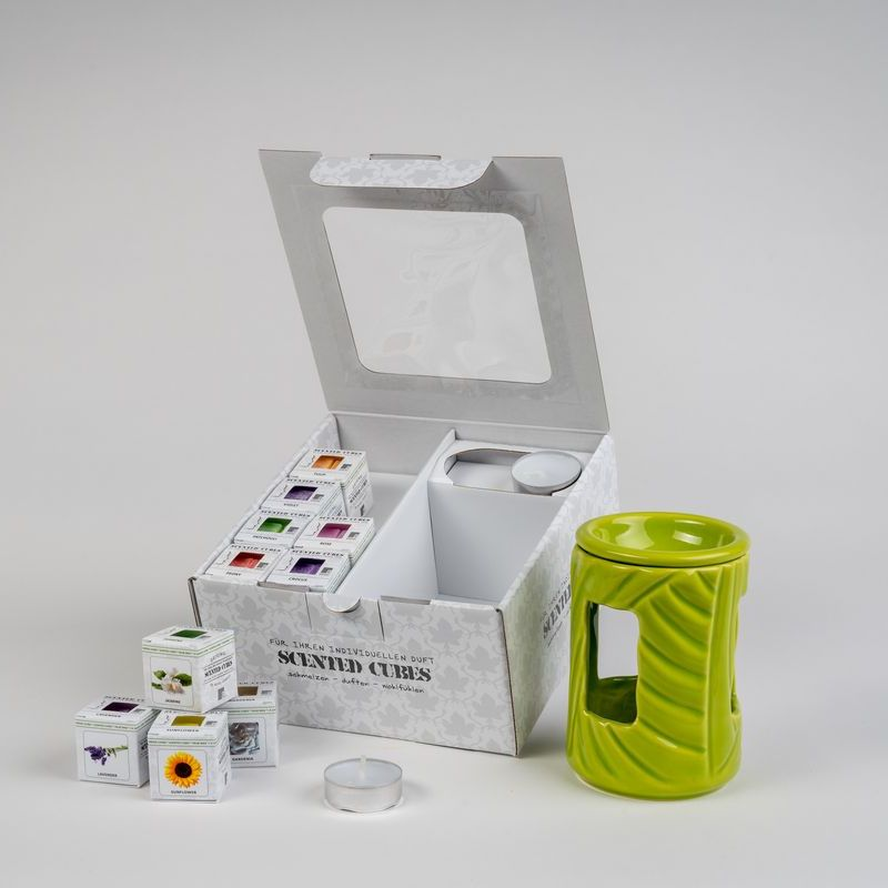 Geschenkbox 150 grün