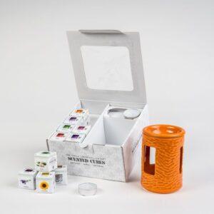 Geschenkbox 160 orange