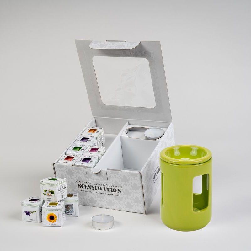 Geschenkbox 250 grün