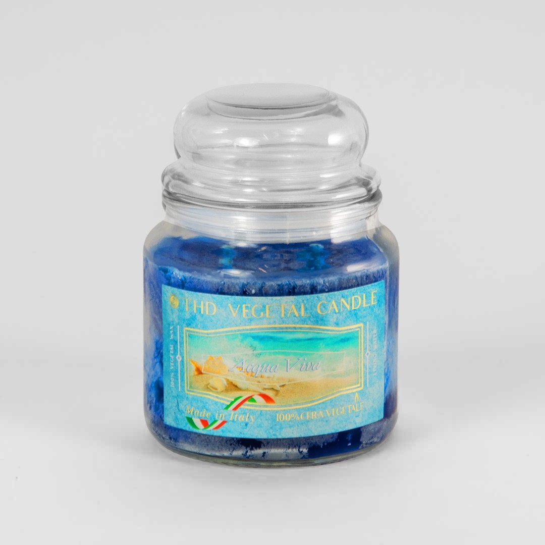 Kerze im Glas VEGETAL - Belebendes Wasser 600g
