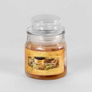 Kerze im Glas VEGETAL Kaffee und Kardamom 100 g