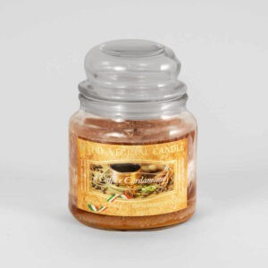 Kerze im Glas VEGETAL Kaffee und Kardamom 420 g