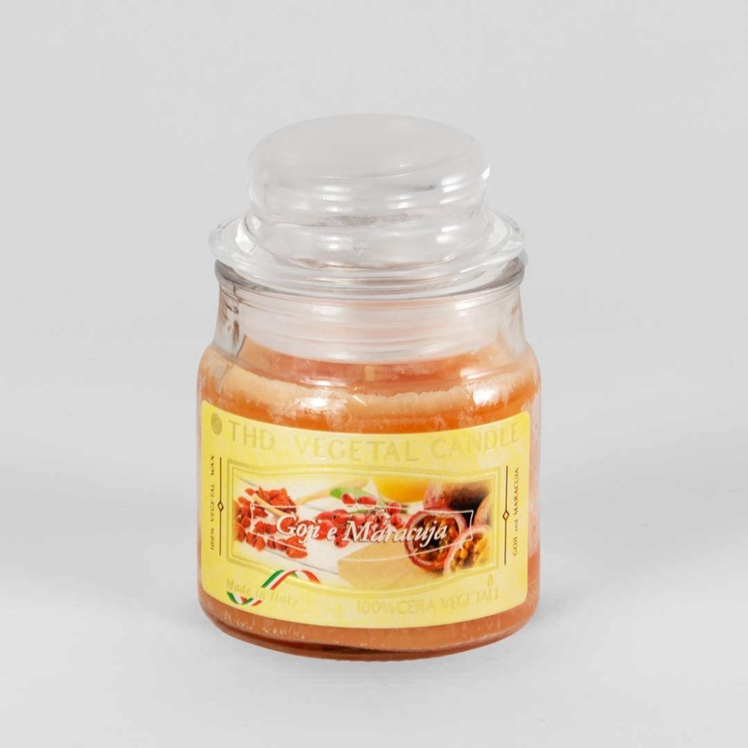 Kerze im Glas VEGETAL Goji und Maracuja 100 g
