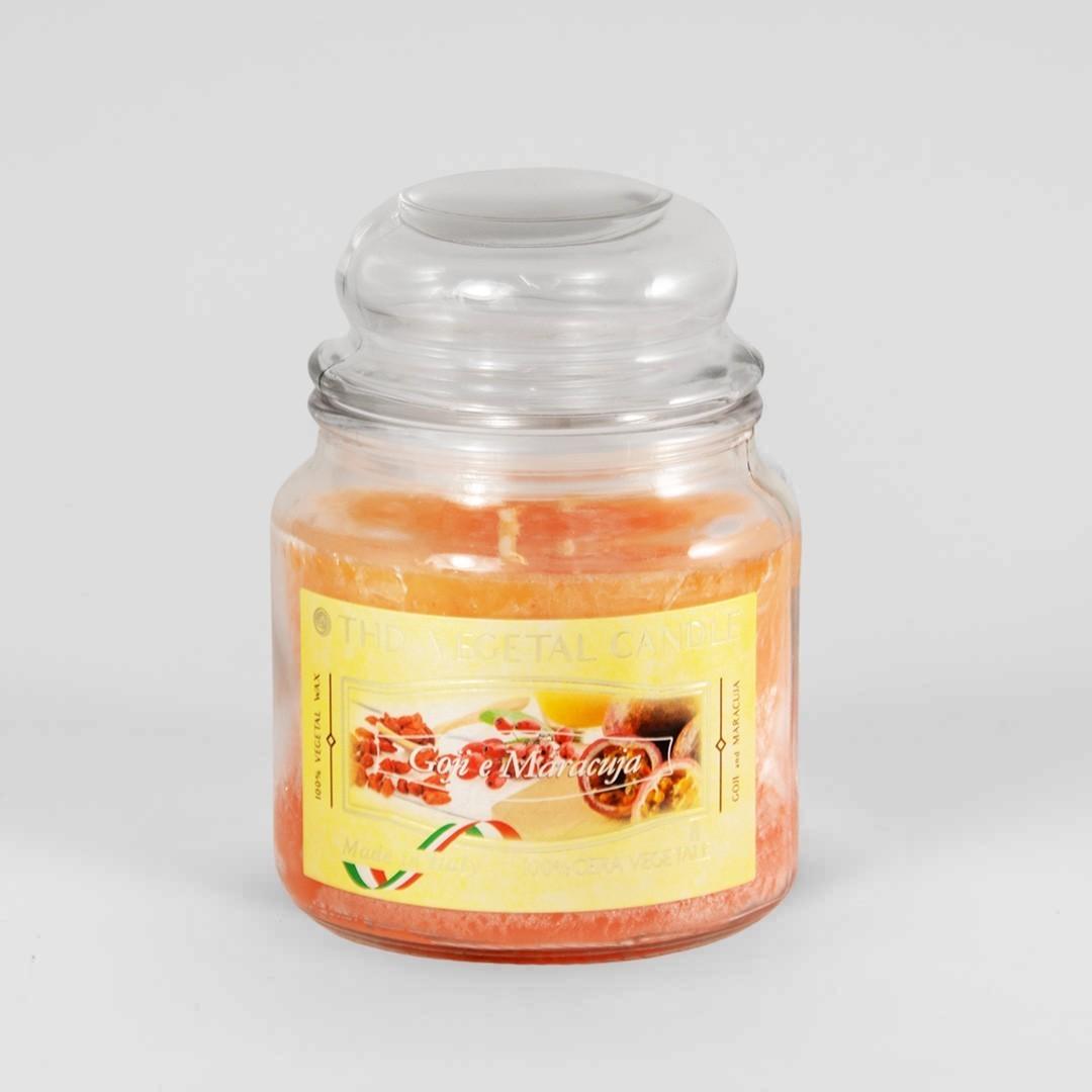 Kerze im Glas VEGETAL Goji und Maracuja 420 g