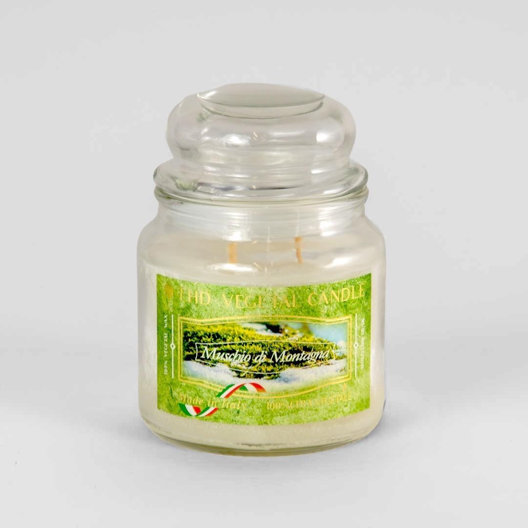 Kerze im Glas VEGETAL Bergmoos 420 g