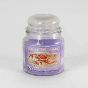 Kerze im Glas VEGETAL Rosa Pfeffer und Kaffee 420 g