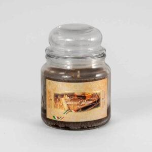 Kerze im Glas VEGETAL Kubanischer Tabak 420 g