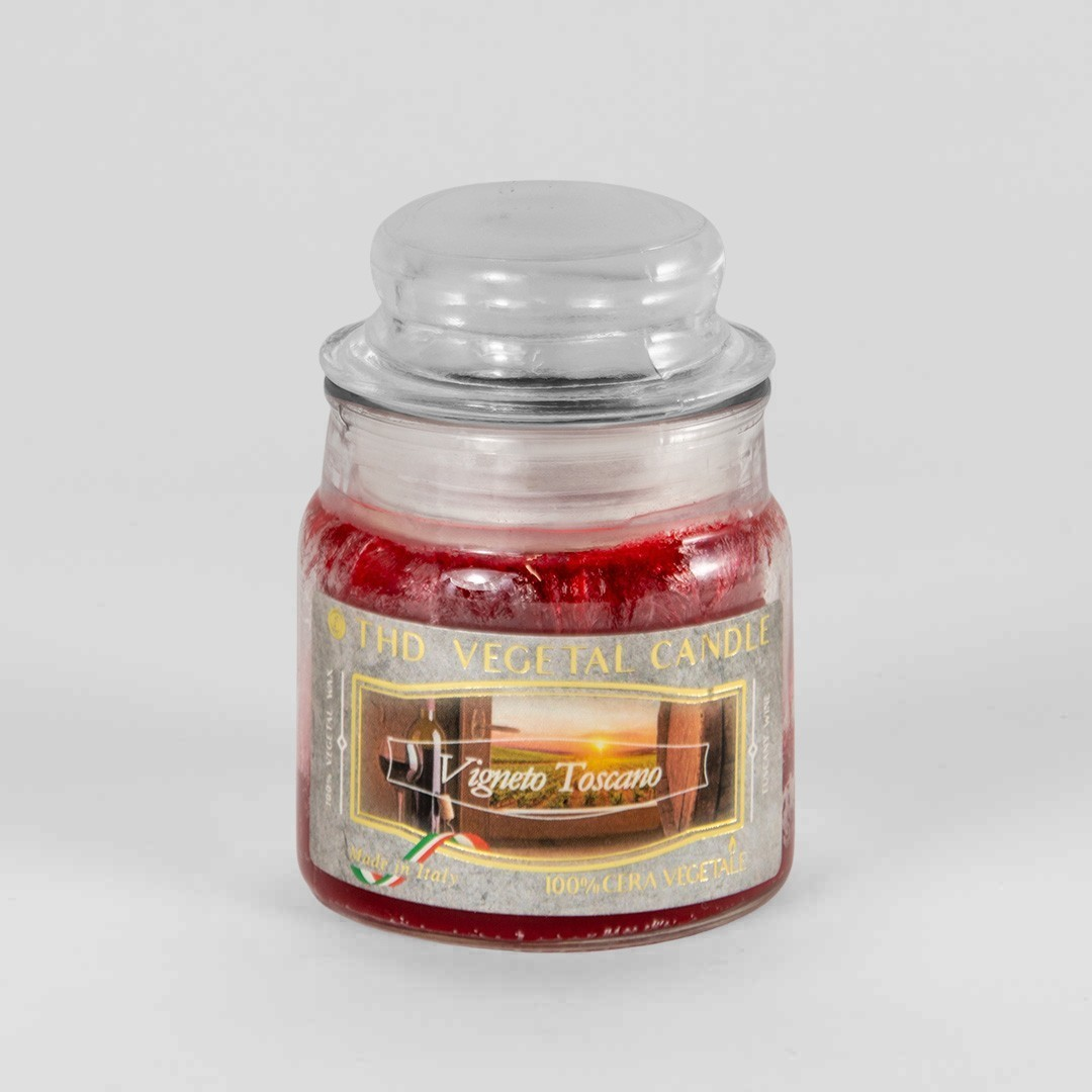 Kerze im Glas VEGETAL Weinberg Toskana 100 g