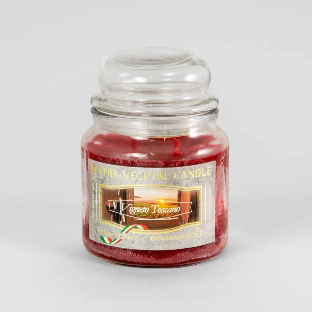 Kerze im Glas VEGETAL Weinberg Toskana 420 g