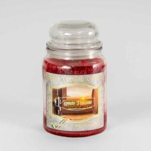 Kerze im Glas VEGETAL Weinberg Toskana 600 g